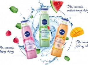 Nivea Fresh Blends żel pod prysznic 300ml